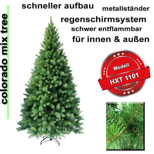 180 cm exkl künstlicher Weihnachtsbaum Christbaum Tannenbaum inkl Metallständer