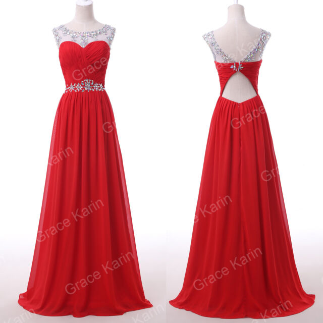 Sexy Beaded Long Prom dresses Masquerade Party Gowns Bridesmaid Dress Plus Size