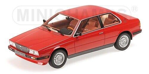 Maserati Biturbo Coupe 1982 rot Resin 1:18 Minichamps neu OVP 107123501