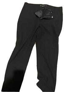 Zara Basic Para Mujer Talla 8 Negro Pantalones De Vestir Ebay