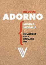 Minima Moralia: Reflections from Damaged Life (Radical Thinkers) Adorno, Theodo