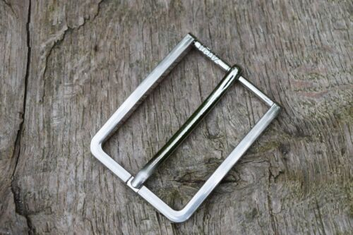 "Metal Belt Buckle TO FIT 35mm 1 3//8""  BELT silver colour nickel S"
