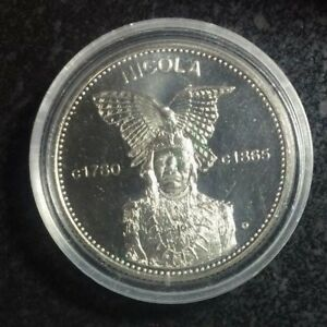 1977 British Columbia Kwakiutl Dollar Mungo Martin ~Proof like surfaces~ Nice !