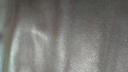 Italian Top Quality Cowhide leather skin Cow Hide Red Brown 11 Sq.Ft 4 oz