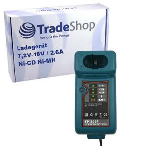 Akku Ladegerät bis 18V Ladestation für Makita 8400VD 8400VDW 8402DW 8402VD
