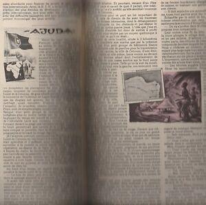 """Coupure De Presse """"ajuda"""" Récit Du Capitaine René R. J. Rohr 1958 Dahomey Finement Traité"""