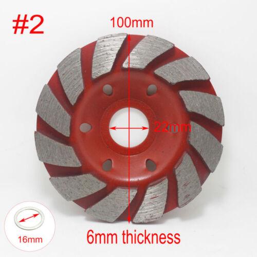 80~100mm Diamond Segment Grinding Wheel Cup Marble Disc Grinder Granite Stone
