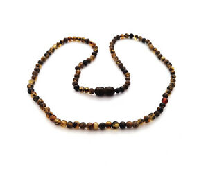 Organic and Handcrafted Jewelry Amber Necklace with 100/% Natural Baltic Beads