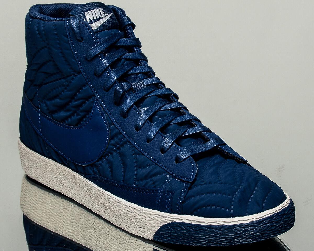 Nike WMNS Blazer Mid Premium SE women lifestyle sneakers NEW blue 857664-400