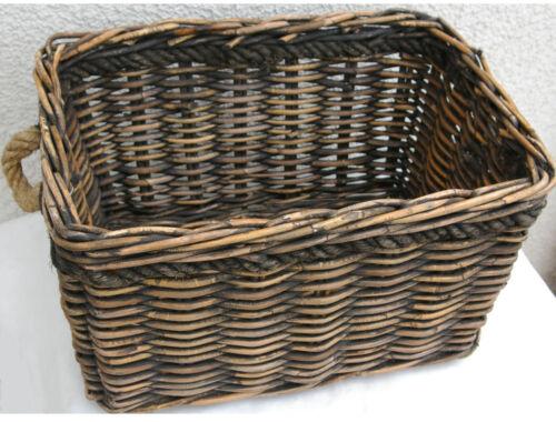 New Looxs Sydney Weidenkorb Fahrradkorb Gepäckträgerkorb Einkaufskorb Rattan