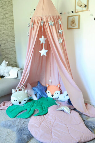 Betthimmel Baldachin XXL Kinderzimmer Zelt Kinderzelt Babybett Himmel Spielecke