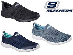 Comfort Work nere slip on trainer casual Scarpe scarpe Nuove Womens Skechers 8q5FPnvUw