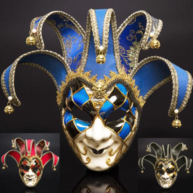 Venetian Mask Masquerade Carnival Wall plaque dark red