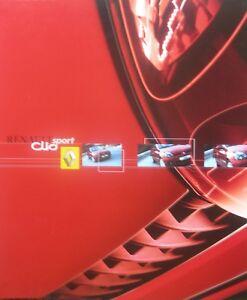 = CLIO RENAULT SPORT 2.0 16V - Documentation de 16 pages 06 -2001 - NEUF knVxFvMX-07135903-553388527