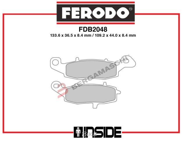 Scheibenbremse FERODO FDB4237 Bremsbelagsatz