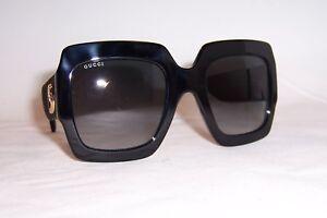 9aa4d49e33c NEW GUCCI SUNGLASSES GG 0102S 001 BLACK GRAY GRADIENT AUTHENTIC 0102 ...
