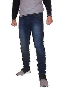 Jeans-pantalone-uomo-slim-fit-elastico-zip-10031