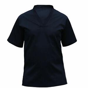 Medical Scrub Unisex UK TUNIC XS-5XL Short Sleeves Hospital Suit Medical Scrub