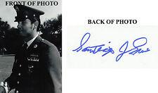 Sergeant Santiago Erevia Vietnam 101st AB, 501st  Medal of Honor SIGNED 4x6 MOH
