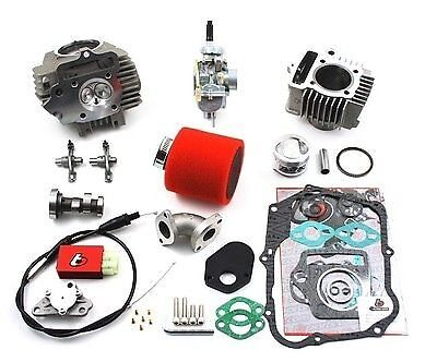 88cc Big Bore Race Head & Carb Kit - Honda Z50, XR50/CRF50 XR70/CRF70, 88'-2015