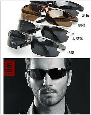 HOT 2014 NEW men's polarized sunglasses Driving glasses 4 colors P6825+BOX