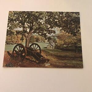 Older-Postcard-Valley-Forge-PA-George-Washington-1777-78-Revolution