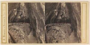 Suisse-Reggiseno-Da-La-Tamina-Foto-Braun-Stereo-PL53L3n28-Vintage-Albumina-c1860