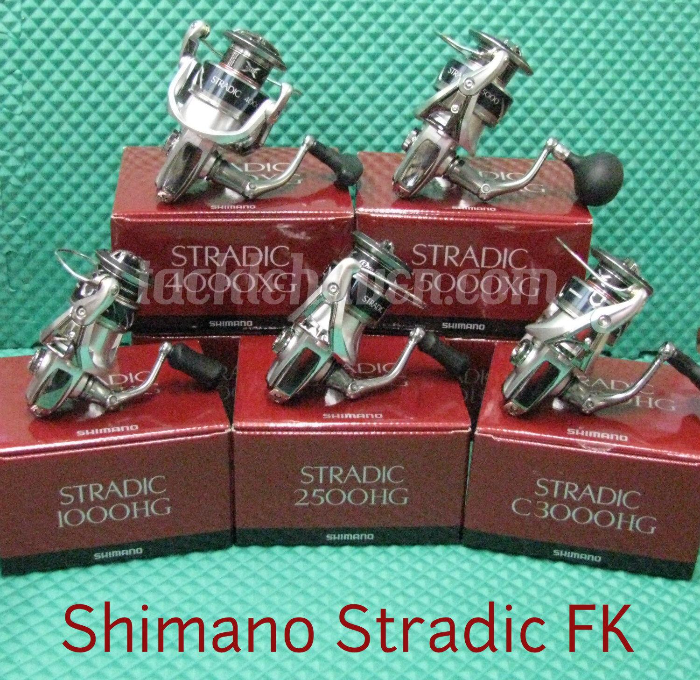 Shimano Stradic FK Spinning Reels CHOOSE MODEL