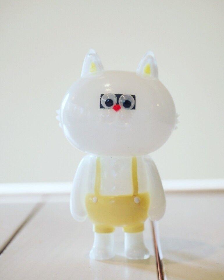 T9G Nekotaro Yellow Art toy Sofubi Moritaro Figure Toy soul 2018