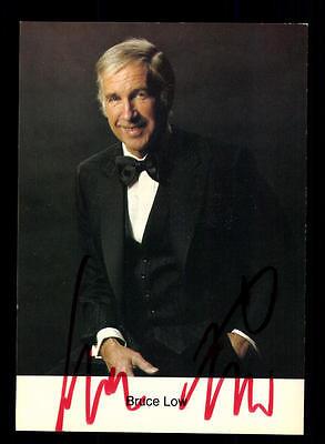 Sammeln & Seltenes Begeistert Bruce Low Autogrammkarte Original Signiert ## Bc 87241 Autogramme & Autographen