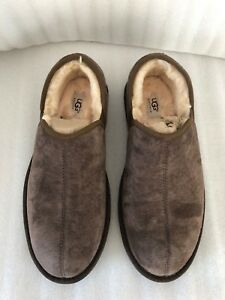 54f68581ca1 Details about UGG Men's Scuff Romeo II Suede Slippers USED With Box  Authentic Size 12