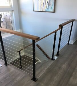 STAINLESS STEEL CABLE RAILING FOR DECKS DECK RAILING POSTS ...
