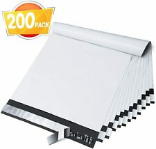 10x13 Inches Poly Mailers Shipping Envelops Self Sealing Top Quality 200pc