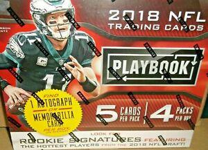 2018 Panini Playbook Football Mega Box NEW FACTORY SEALED