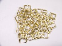 Leather Craft Buckles 121 Bucklesolid Brass3/4 Inch Size(24) Quantity