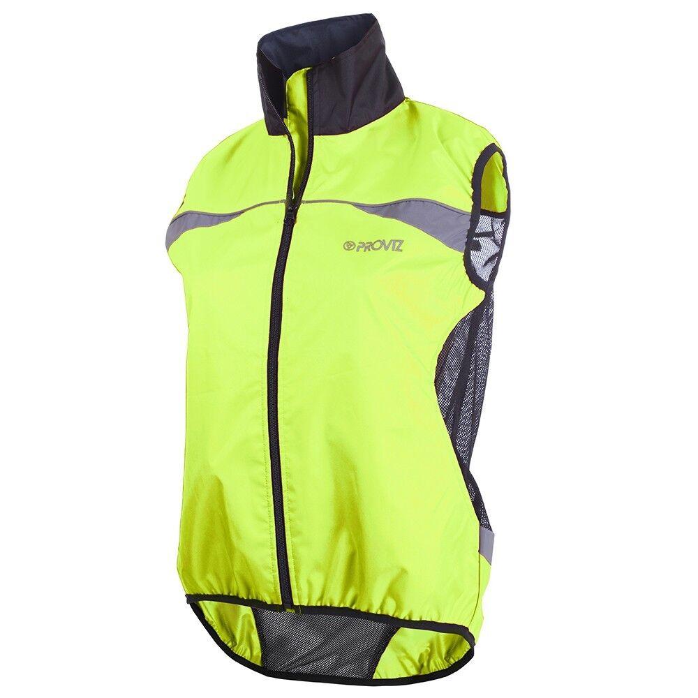 Proviz  classeic donna's ciclismo Gilet Vest  HiVis Fluro gituttio