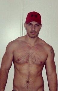 Hot hairy men chest