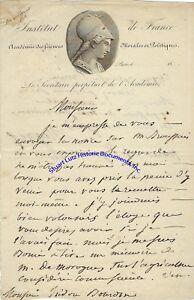 French-historian-Francois-Mignet-handwritten-letter-1840-from-Paris