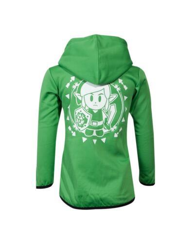 Zelda-Link /'s Awakening Kids TEQ Hoodie Green