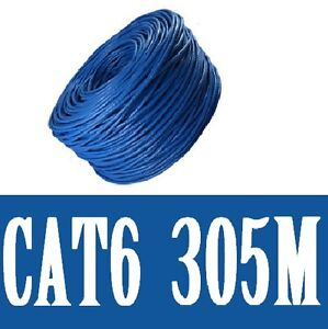 100M-305M-Ethernet-Network-Lan-Cable-CAT6-10-100-1000-Mbps-Compatible-Free-Post