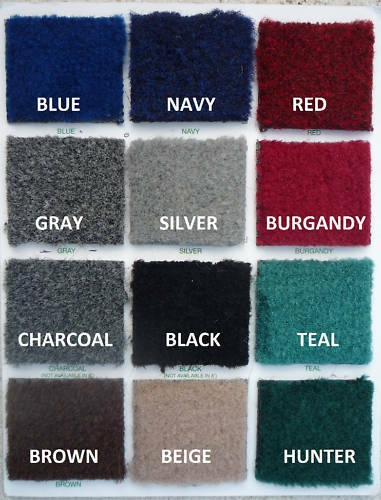 Boat Marine Grade Carpet Bass Pontoon Cut Pile 16oz 8/' Wide Custom Length Color