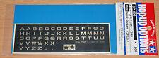 Tamiya 53898 Initial Stickers (2 Pcs.), NIP