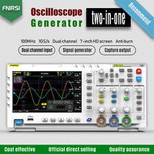 Fnirsi 1014d Fnirsi 1013d Tft Lcd 100mhz 2 1gsas Oscilloscope 2 Channel 7in