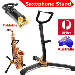 33cm-Alto-Tenor-Saxophone-Stand-Folds-Up-Compactly-Stand-Tool-for-Hercules-AU
