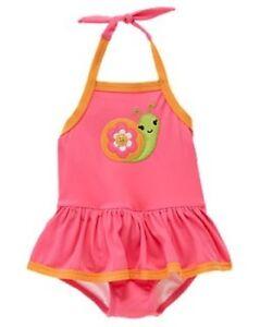 NEW Gymboree 3D Daisy Flower Stripe One-Piece Swimsuit Swimwear NEW Girl 3T