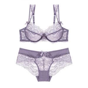 511f68d2af785 Luxury Lingerie Bra Set New Push Up Embroidery Lace Plus Size Bra ...