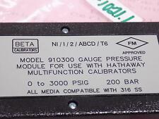 BETA CALIBRATORS PRESSURE GAUGE  910300 NNB