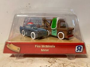 Disney Pixar Cars 2 Wood Collection Holiday Mater Finn Mcmissile Toys R Us Ebay