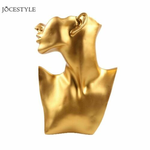 Resin Mannequin Necklace Bust Stand For Necklace Pendant Bust Displays Holder