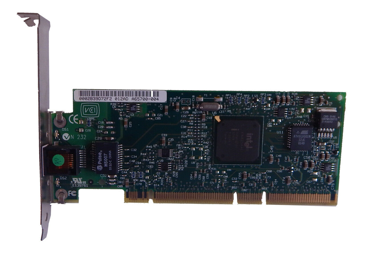 ell Intel Pro1000XT PCI Network LAN Card 1H895 A65700-004